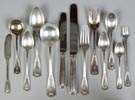 Tiffany & Co. Sterling Silver Flatware - Saint Dunstan Pattern