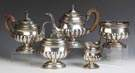 Early Coin Silver 5-Pc. Tea & Coffee Service