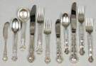 Two Sterling Silver Flatware Sets