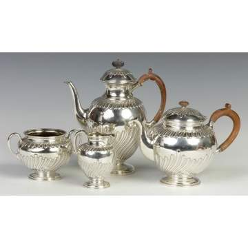 4-Pc. Sterling Silver Tea Set