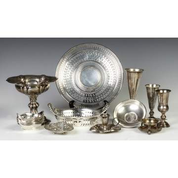 Group of Various Sterling Silver  Table Items