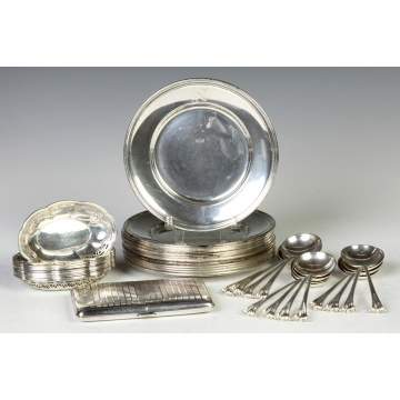 Group of Various Sterling Silver
