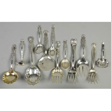 Misc. Sterling Silver Serving Pcs.