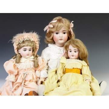 Three German Dolls