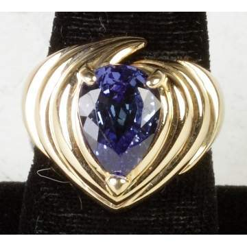 14K Gold & Tanzanite Ring