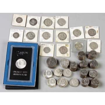Large Group of Coins