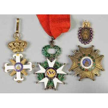 Group of Various Continental Military Medals