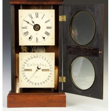 Seth Thomas Calendar Shelf Clock