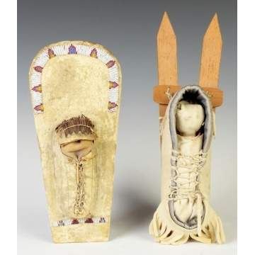 Native American Doll Cradles