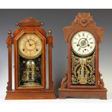 Ansonia & New Haven Shelf Clocks