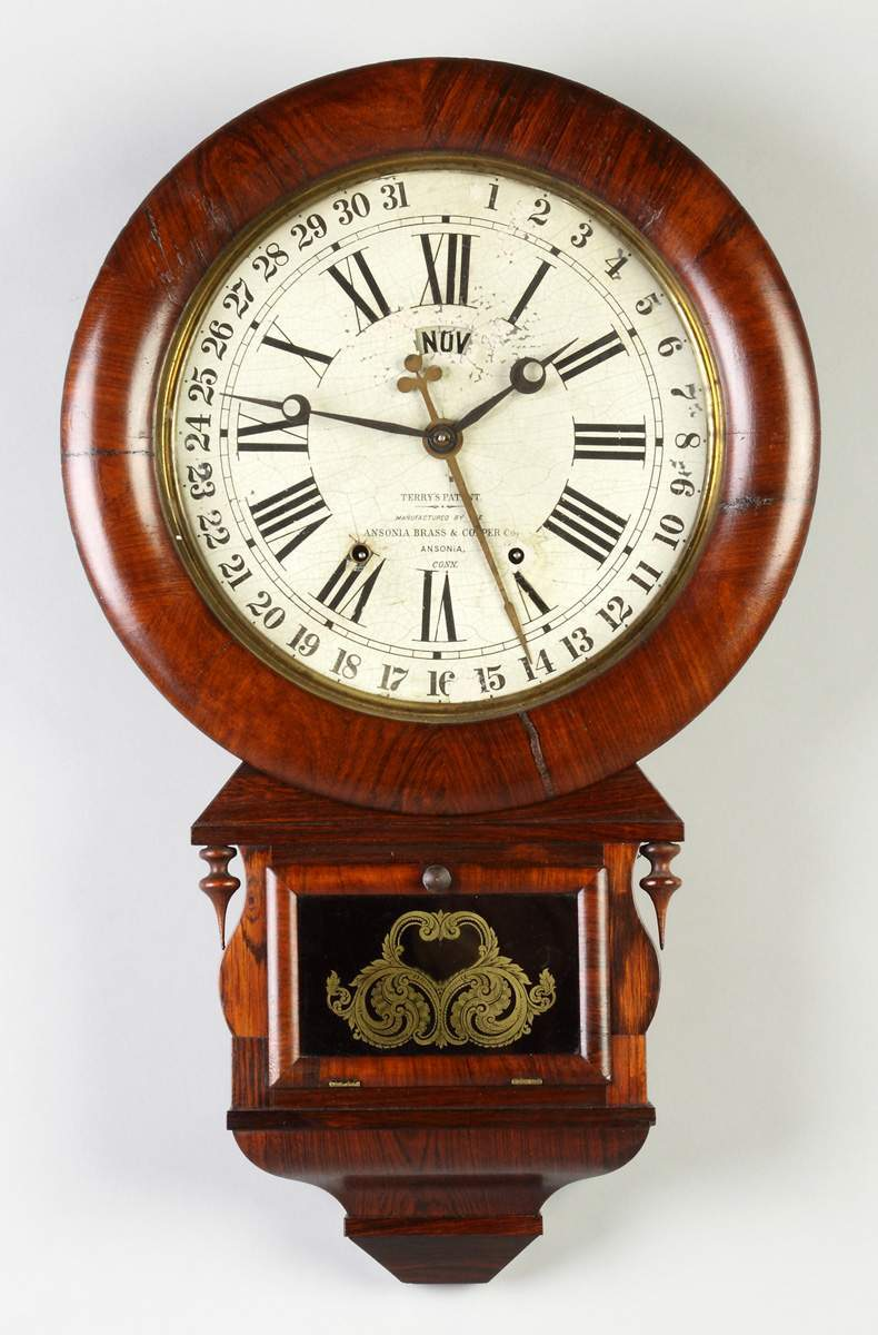 Calendar Clocks For Sale Prices Appraisals Auctions Rochester NY
