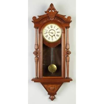 E.N. Welch Victorian Wall Clock