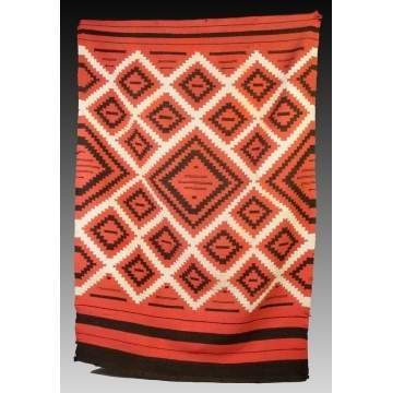 Navajo Wearing Blanket