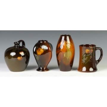 Group of Art Pottery Vases & Mug