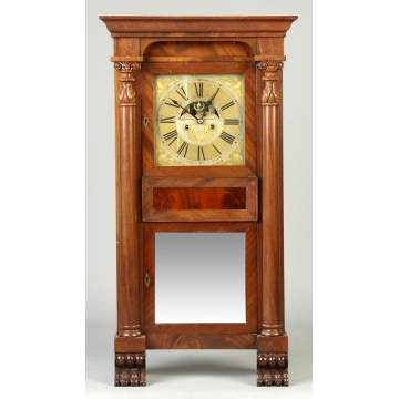 NY State Empire Shelf Clock