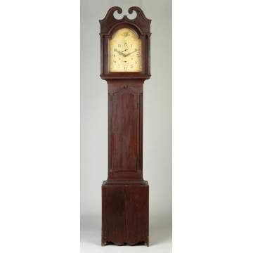 Seth Thomas Cherry Tall Case Clock