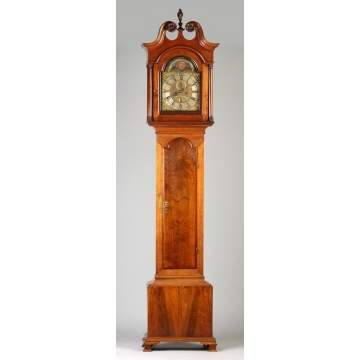 John Wood, Philadelphia, Tall Case Clock