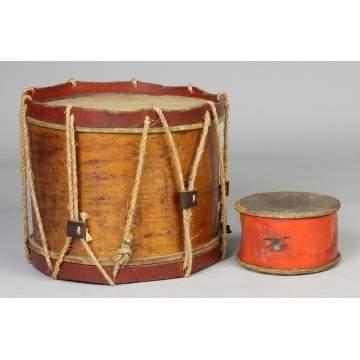 Civil War Drum & Toy Drum