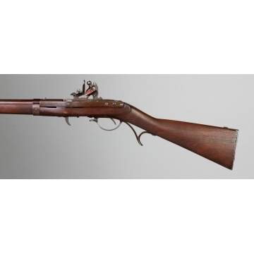 J. H. Hall Flintlock Rifle