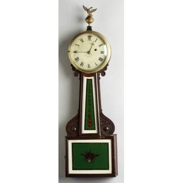 Geo. Neilson, Boston, Banjo Clock
