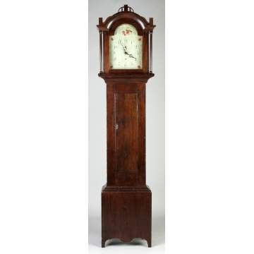 Pine Tall Case Clock