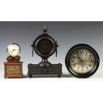Shelf Clocks & Ships Clock