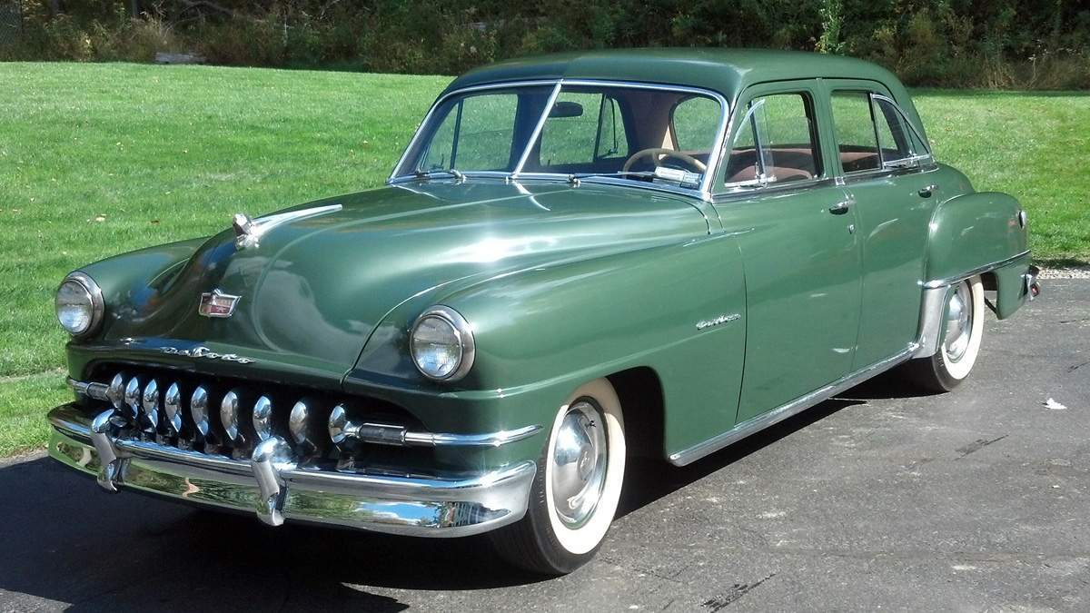 1951 desoto custom 4 door sedan cottone auctions for 1951 ford 4 door sedan