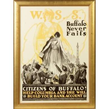 """Buffalo Never Fails"" Poster"