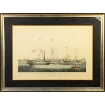 """Ships of the General Steam Navigation Co."" Print"
