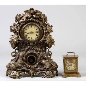 Muller NY, #65, & Junghans Carriage Clock