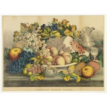"Currier & Ives ""American Choice Fruits"""
