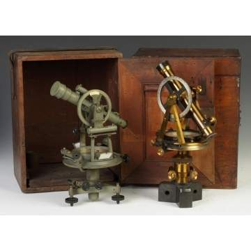 Two Surveying Instruments