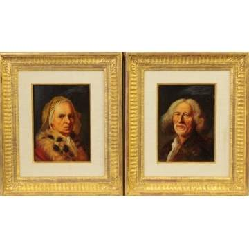 Two 19th cent. Portraits
