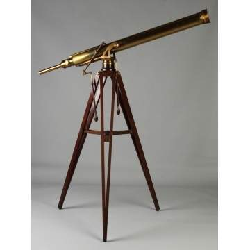 T. Cooke & Sons, York & London, Brass Telescope