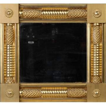 19th cent. Gilt Wood Mirror