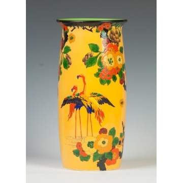 Royal Doulton Hand Painted & Relief Vase