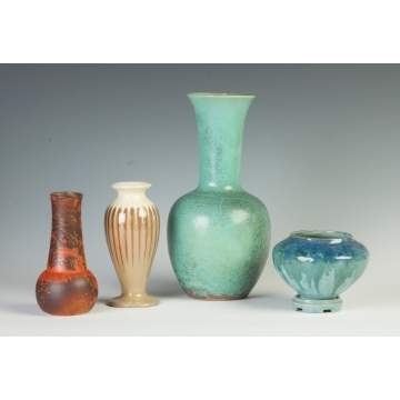 Group of Art Pottery