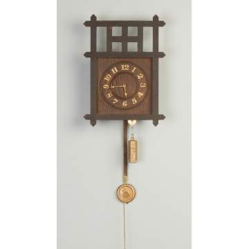 Arts & Crafts Wall Clock