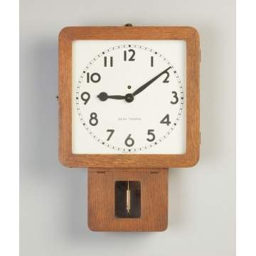 Seth Thomas Art Deco School House Clock