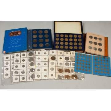 Coin Collection & Commemorative Medals