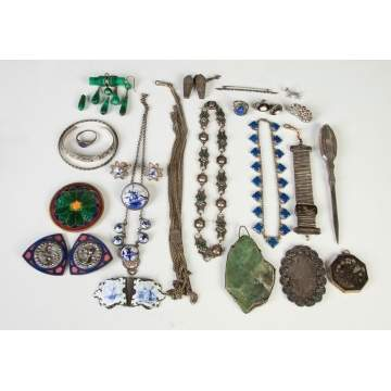 Group of Various Vintage Jewelry