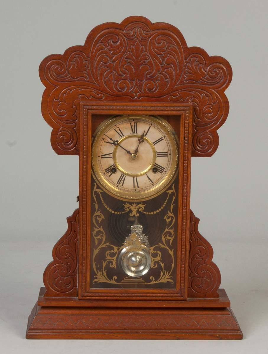 Waterbury Clock Co Oak Kitchen