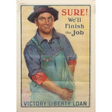 Victory Liberty Loan Poster & Boy Scouts Poster
