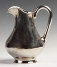 The Kalo Shop Sterling Silver Hand Hammered Water Pitcher