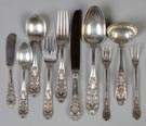 International Sterling Silver Flatware Set - Richelieu Pattern