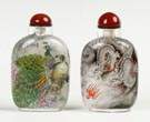 Two Inside Painted Snuff Bottles