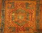 Antique Oushak Oriental Rug