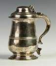 Sterling Silver Pear Shape Tankard