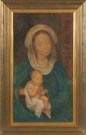 Anne Crawford (Louisiana, 20th cent.) Madonna & Child
