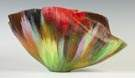 "Toots Zynsky (1951) ""Boundless Serena"" Contemporary Art Glass Bowl"
